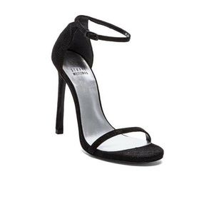 $398 Stuart Weitzman Nudist Ankle Strap Sandals 6